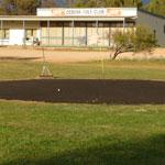 The sand greens still at Ceduna